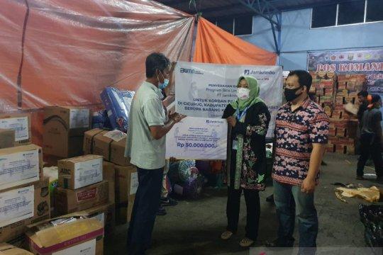 Korban banjir bandang di Sukabumi dapat bantuan Jamkrindo