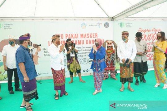 "Kemenparekraf-Pemkot Denpasar gelar kampanye ""Gerakan Pakai Masker"""