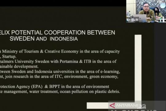 """Indonesia usulkan empat peluang kerja sama """"triple helix"""" ke Swedia"""