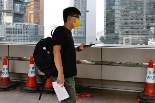 Joshua Wong mengaku bersalah atas tuduhan berkumpul tanpa izin