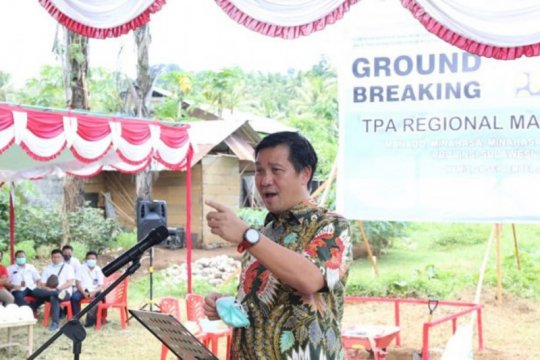 TPA Mamitarang diharapkan mampu tampung 312,29 ton sampah per hari