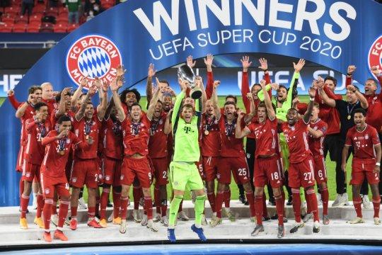 Bayern lengkapi caturgelar dengan menangi Piala Super UEFA