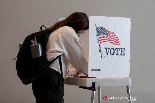 Pemungutan suara awal pilpres AS