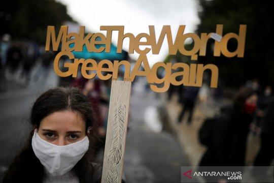 Generasi muda dunia lakukan  protes lawan perubahan iklim