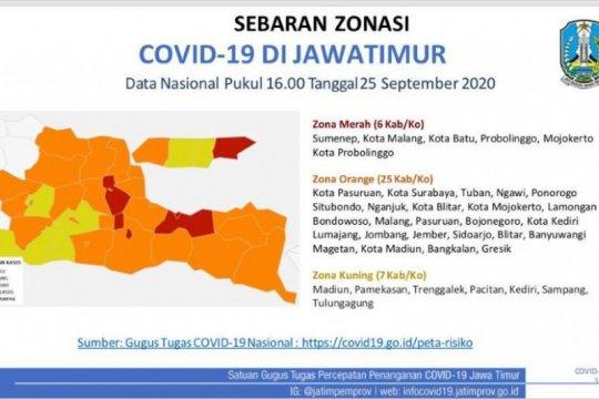 Pasien sembuh dari COVID-19 di RS Lapangan Surabaya capai 2.070 orang