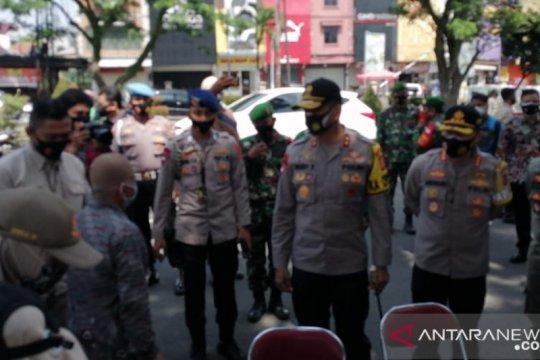Kapolda Jabar tinjau Operasi Yustisi di Bogor