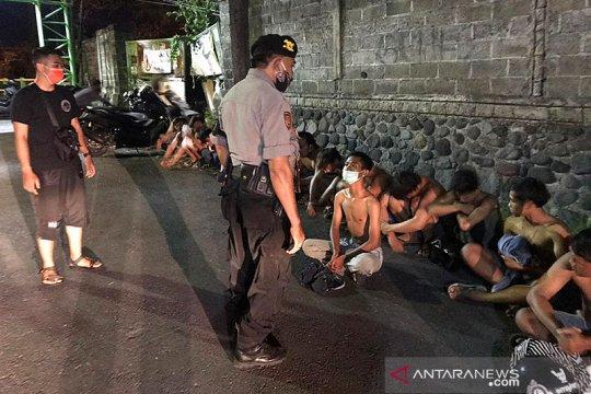Aksi balap liar, Polda Bali amankan 24 anak di bawah umur