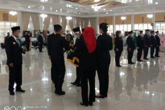 Gubernur Sumut kukuhkan 10 penjabat sementara bupati/wali kota