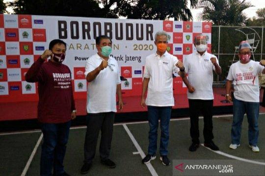 Pelari elite Borobudur Marathon 2020 bakal dites usap dan dikarantina