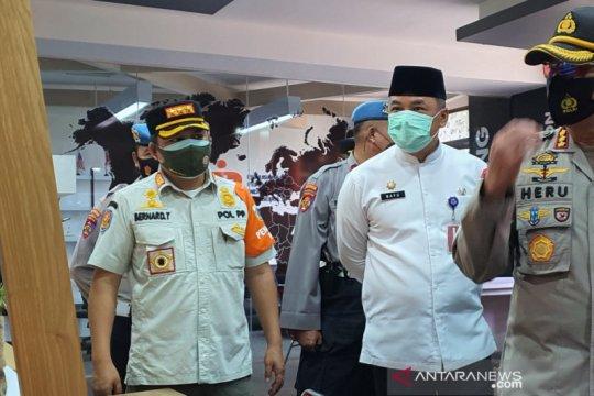 PSBB Jakarta, laju infeksi penularan COVID-19 di Jakarta Pusat turun