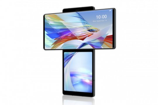 LG mulai jual ponsel layar putar bulan depan