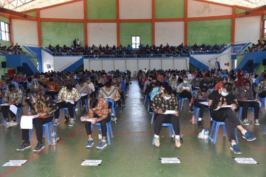 449 calon bintara polisi ikuti tes psikologi di Panitia Daerah Papua