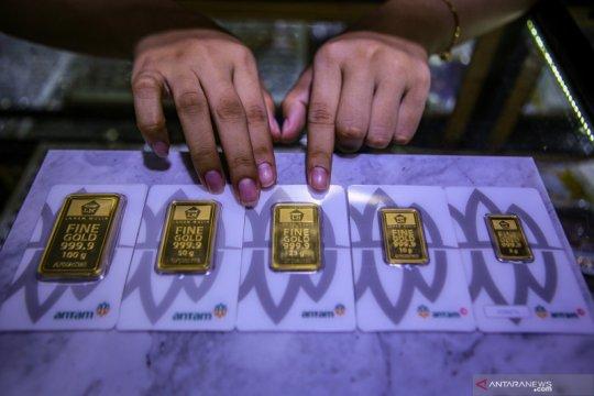 Harga emas Antam hari ini naik ke Rp1.007.000/gram