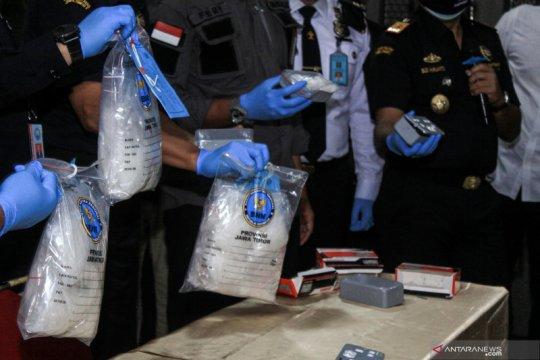 Bea cukai Juanda gagalkan penyelundupan sabu dalam peralatan listrik