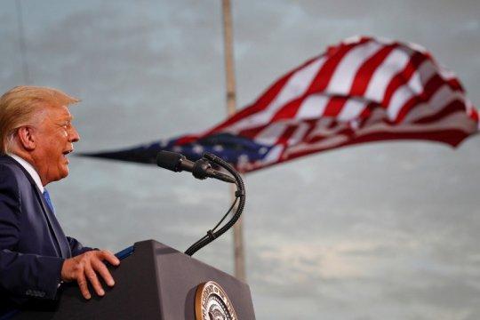 Trump: Pemenang pemilu AS mungkin tak dapat diketahui segera