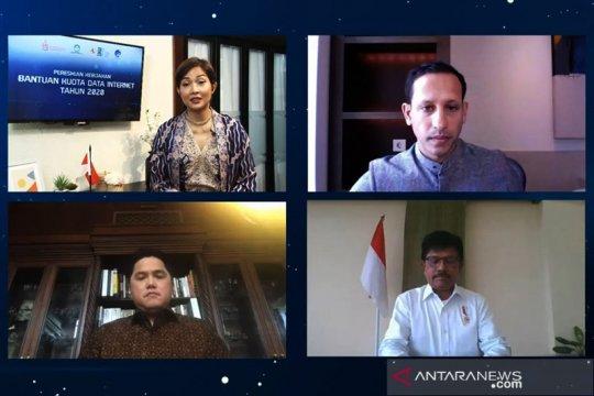 Mendikbud resmikan kebijakan bantuan kuota internet