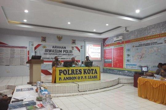 Irwasum Polri ingatkan jangan terjadi duplikasi anggaran anggota