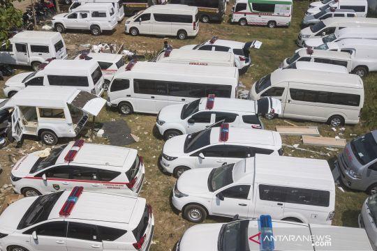 Perakitan mobil ambulans meningkat saat pandemi COVID-19