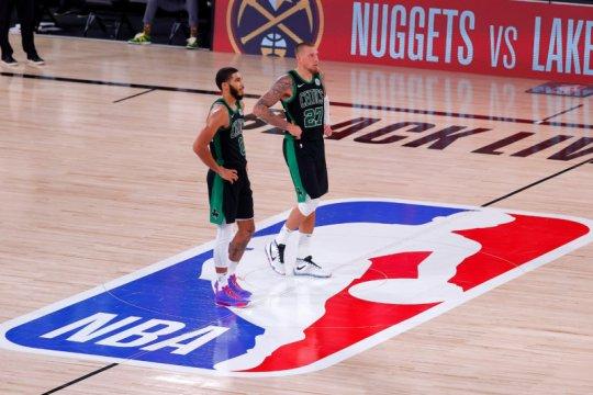 Celtics kontrol paruh kedua untuk ungguli Heat di gim kelima