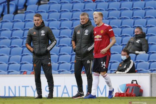 Solskjaer minta timnya terus mencoba cetak gol sampai akhir laga