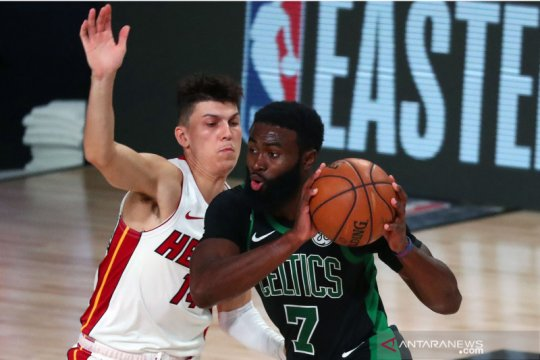 NBA: Boston Celtics tunda kemenangan Miami Heat