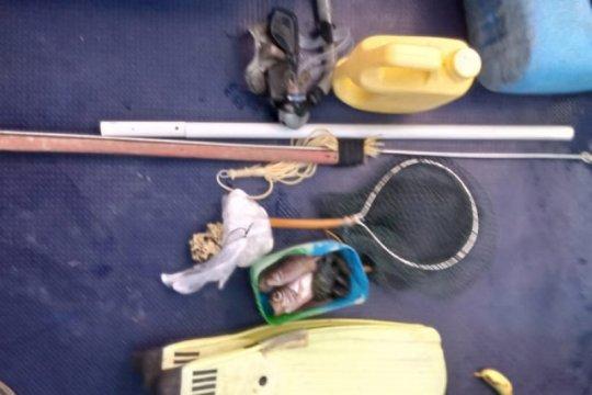 KKP amankan dua penangkap ikan dengan bahan kimia berbahaya