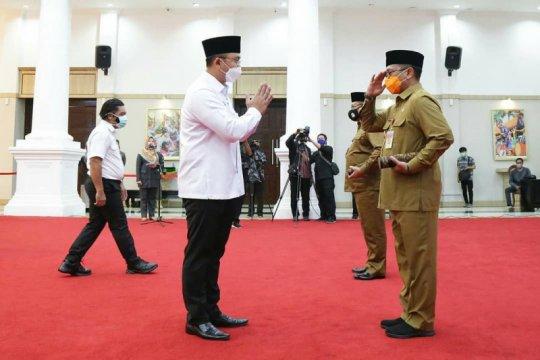 Wakil Gubernur Banten lantik Pjs Bupati Pandeglang dan Serang
