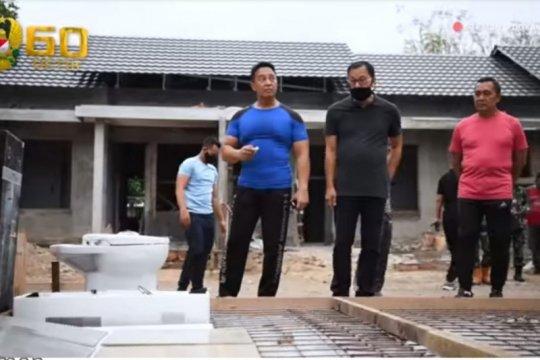 Kasad tinjau perumahan prajurit di Yogyakarta