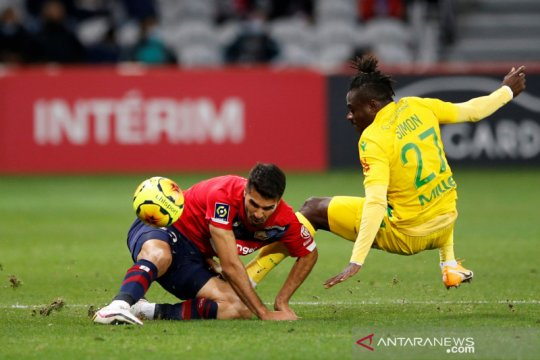 Liga Prancis: Lille tundukkan Nantes 2-0