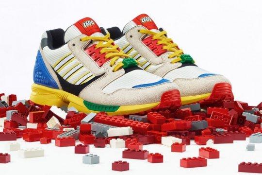 Adidas kolaborasi dengan LEGO rilis sneaker warna-warni