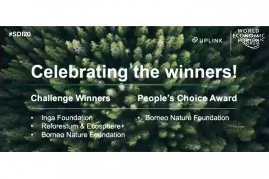 BNF raih penghargaan Trillion Trees Challenge di Forum Ekonomi Dunia