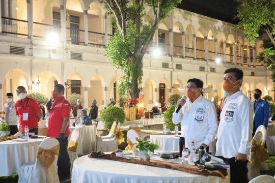 Eri-Armuji dapat sorotan tak hadiri deklarasi damai Pilkada Surabaya