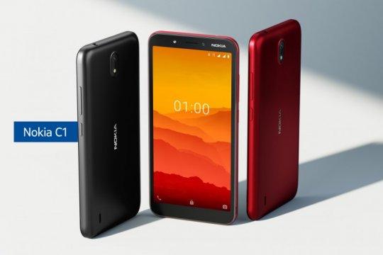 Nokia C1, ponsel tak sampai Rp1 juta