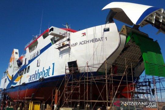 KMP Aceh Hebat 1 direncanakan diluncurkan awal Oktober