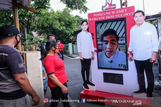"PIlkada Solo, Gibran blusukan ""online"" sapa warga Kampung Dawung"