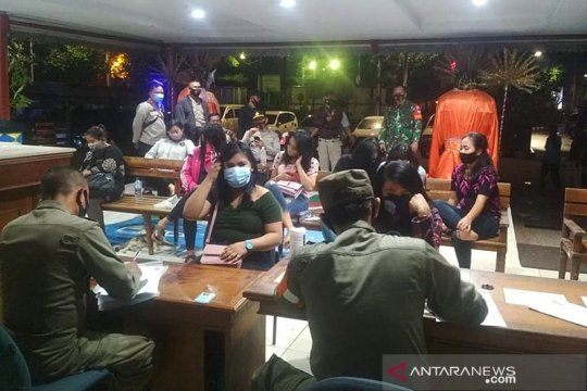PSBB Jakarta, hiburan malam di Kebon Jeruk dibubarkan