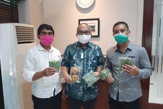 Petani Lembang temui Dubes RI, jajaki ekspor sayuran ke Singapura