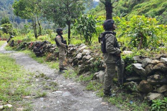 Tim gabungan olah TKP penembakan di Intan Jaya