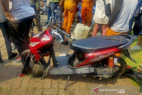Tabrak trotoar, wanita remaja tewas di Jakarta Pusat