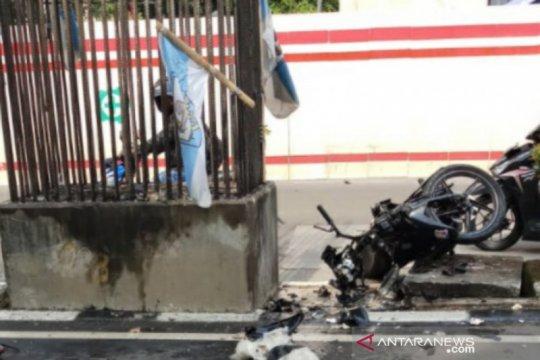 Seorang pria tewas usai tabrak tiang monorel di Rasuna Said