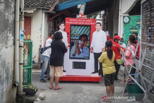 Kampanye blusukan virtual Gibran di perkampungan Solo