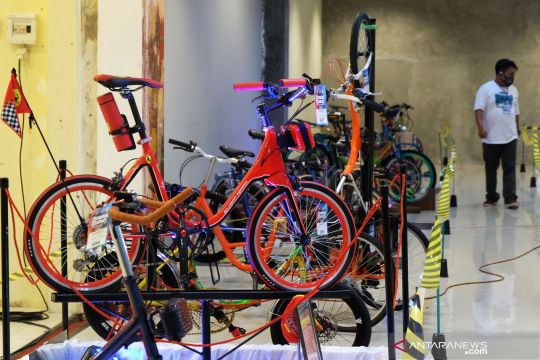 Kontes sepeda mini di Karanganyar