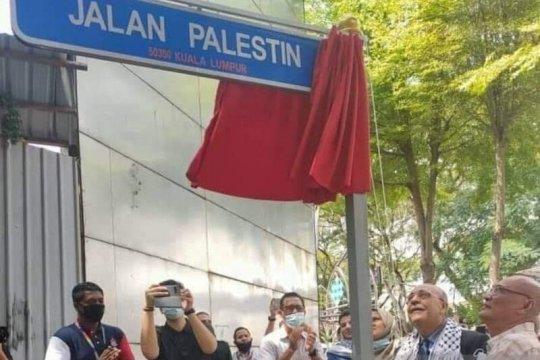 Sebuah jalan di Malaysia berubah menjadi Jalan Palestina