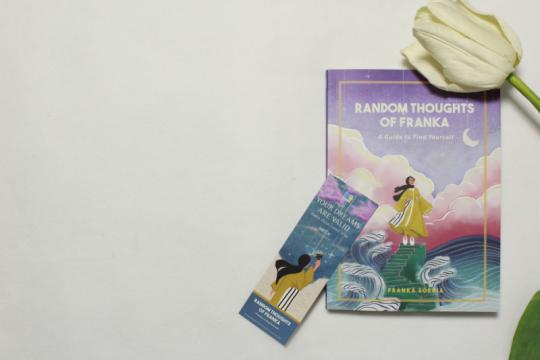 Franka Soeria tuangkan kisah hidup lewat buku