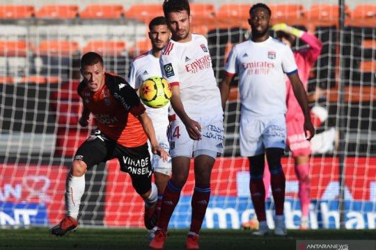 Olympique Lyon hanya bawa pulang satu poin di markas Lorient