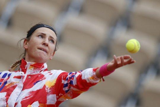 Azarenka bertemu Anna Karolina di babak kedua French Open