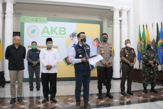 Gubernur: Bogor-Bekasi-Depok, Kota-Kabupaten Cirebon zona merah