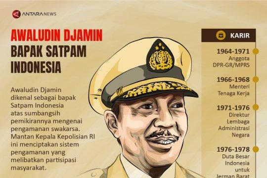 Awaludin Djamin Bapak Satpam Indonesia