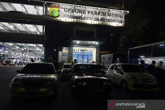 Polda Metro tilang 11 mobil balap liar di Senayan