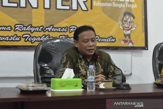 Ketua Bawaslu RI tinjau persiapan pengawasan Pilkada Bangka Tengah